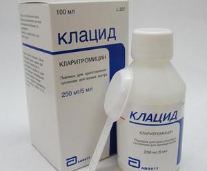 Как действует препарат клацид