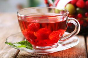Малиновый чай рецепт