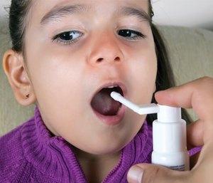Спрей от боли в горле