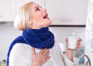 Чем полоскать горло при гнойной ангине?