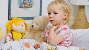 Описание симптомов катаральной ангины у детей