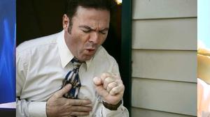 Затрудненное дыхание - воспаление легких