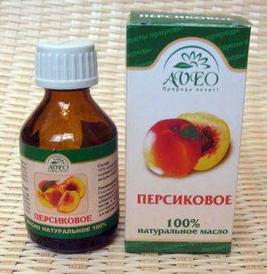 Использование персикового масла