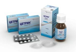 Особенности применения препарата Цетрин