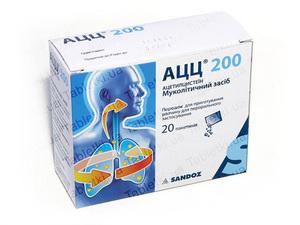 лекарство ацц 200 инструкция порошок и цена